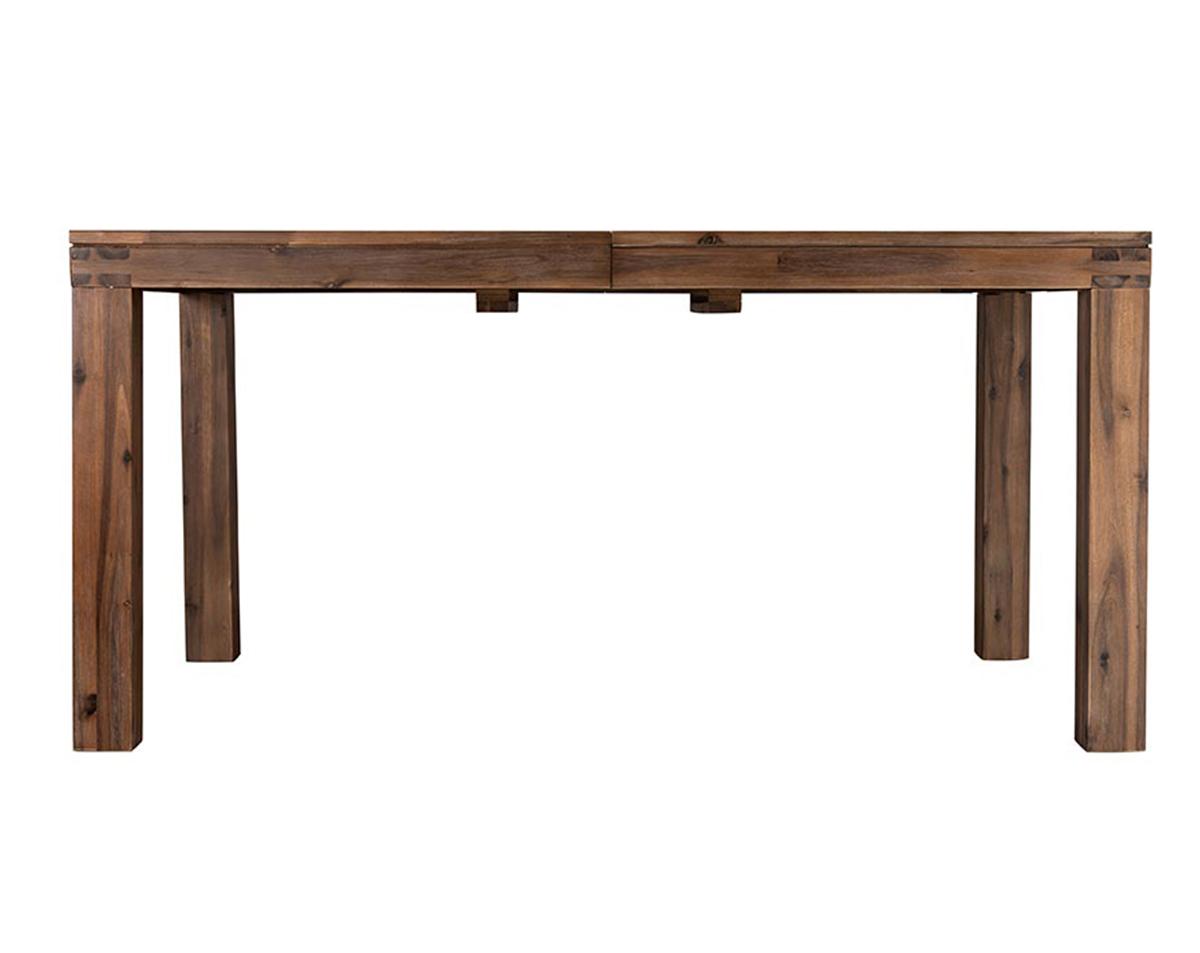 tömörfa étkezőasztal