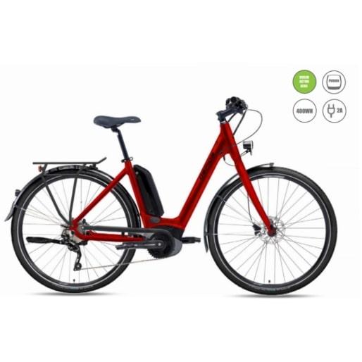 női elektromos kerékpár